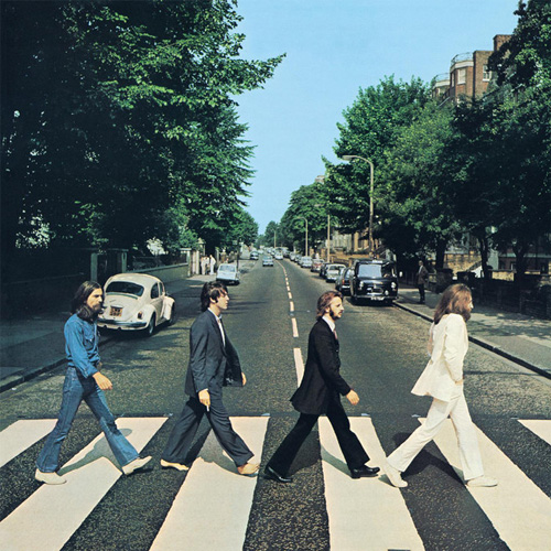 The Beatles Everybody's Trying To Be My Baby cover art
