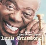 Louis Armstrong Basin Street Blues l'art de couverture