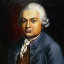 Carl Philipp Emanuel Bach Little Scherzo cover kunst