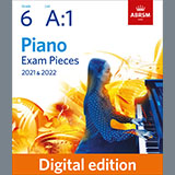 Allegro (Grade 6, list A1, from the ABRSM Piano Syllabus 2021 & 2022)