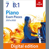 Andante moderato (Grade 7, list B1, from the ABRSM Piano Syllabus 2021 & 2022)