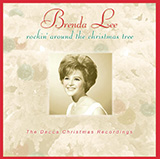 Brenda Lee Rockin' Around The Christmas Tree cover kunst