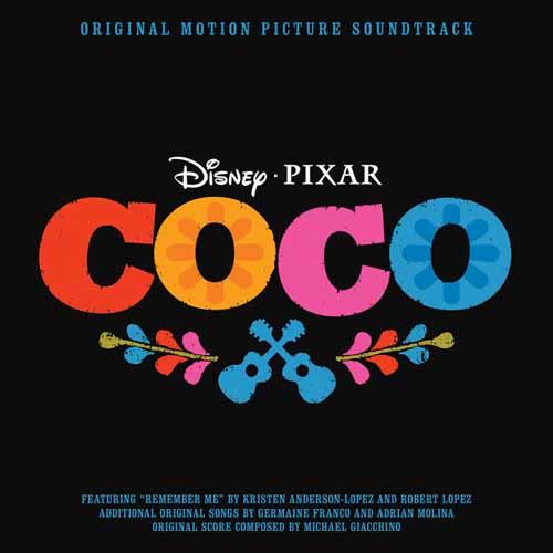 Kristen Anderson-Lopez & Robert Lopez Remember Me (Ernesto de la Cruz) (from Coco) (arr. Roger Emerson) cover art