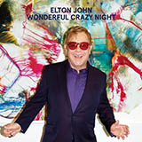 Elton John Blue Wonderful cover kunst