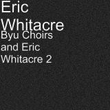 Eric Whitacre Animal Crackers cover art