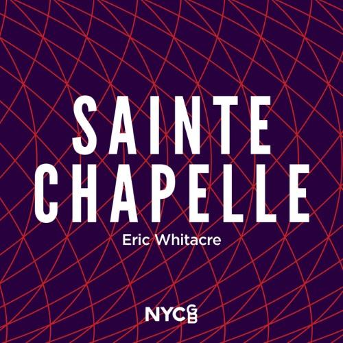 Eric Whitacre Sainte-Chapelle cover art