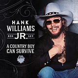 Hank Williams Jr. and Hank Williams There's A Tear In My Beer cover art