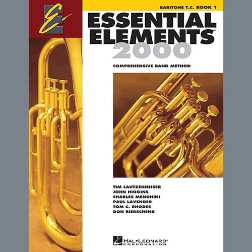 Essential Elements 2000, Book 1 For Baritone T.C. (Book Only)