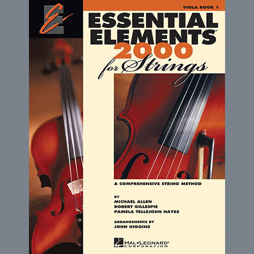 Essential Elements 2000 For Strings Book 1 - Viola (Book Only)