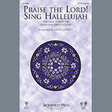 John Leavitt Praise The Lord! Sing Hallelujah - Percussion 1 cover art