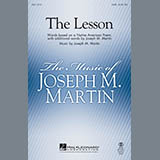 Joseph M. Martin The Lesson l'art de couverture