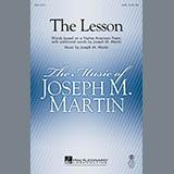 Joseph M. Martin The Lesson - Percussion cover art