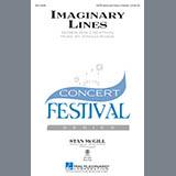 Joshua Shank Imaginary Lines - Piano Secondo cover art