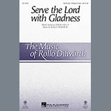 Rollo Dilworth Serve the Lord with Gladness - Trombone 1 & 2 cover art
