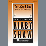 Kirby Shaw Guys Got 2 Sing cover art