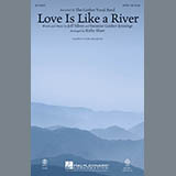 Kirby Shaw Love Is Like a River - Drums l'art de couverture
