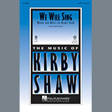 Kirby Shaw We Will Sing cover kunst