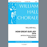 Traditional - How Great Our Joy (arr. William D. Hall)