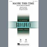 Maybe This Time - Choir Instrumental Pak