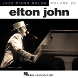 Elton John - I Guess Thats Why They Call It The Blues [Jazz version] (arr. Brent Edstrom)