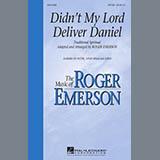 Roger Emerson Didn't My Lord Deliver Daniel l'art de couverture