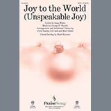 Joy to the World (Unspeakable Joy) - Choir Instrumental Pak
