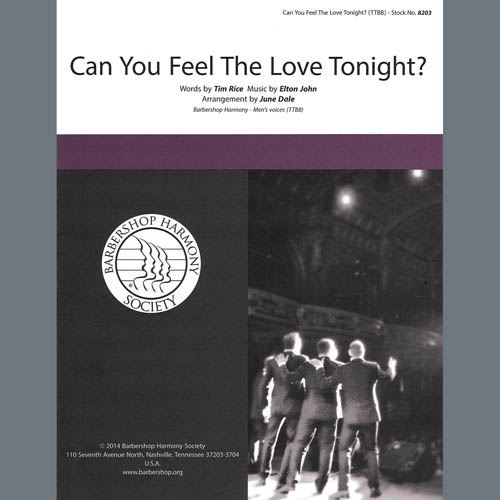Can You Feel the Love Tonight (from The Lion King) (arr. June Dale)