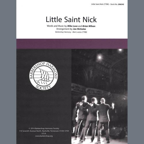 Little Saint Nick (arr. Jon Nicholas)