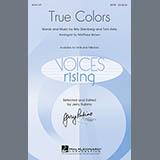Matthew Brown True Colors cover art
