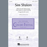 John Leavitt Sim Shalom - Cello cover art