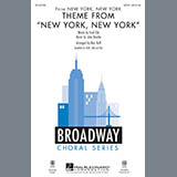 Theme from New York, New York - Choir Instrumental Pak