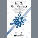 Kristen Bell Text Me Merry Christmas (arr. Roger Emerson) arte de la cubierta