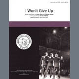 I Wont Give Up (arr. Marshall Webb)