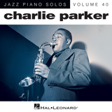 Charlie Parker Out Of Nowhere (arr. Brent Edstrom) cover kunst
