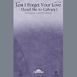 Lest I Forget Your Love - Choir Instrumental Pak