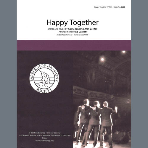 Happy Together (arr. Liz Garnett)