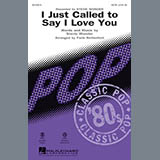 I Just Called to Say I Love You - Choir Instrumental Pak
