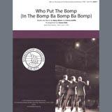 Barry Mann Who Put The Bomp (In The Bomp Ba Bomp Ba Bomp) (arr. Aaron Dale) l'art de couverture