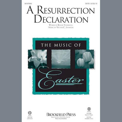 A Resurrection Declaration - Bb Trumpet 1,2