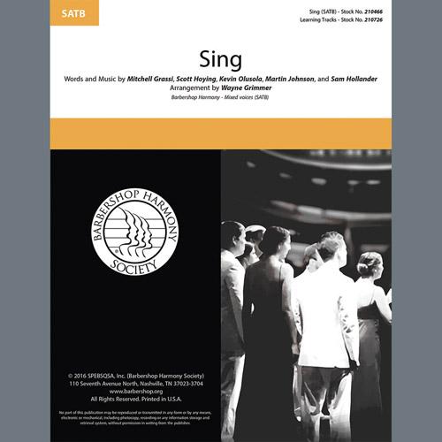 Sing (arr. Wayne Grimmer)