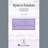 Oscar Peterson Hymn To Freedom (arr. Seppo Hovi) cover art