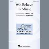 Henry Leck We Believe In Music cover art