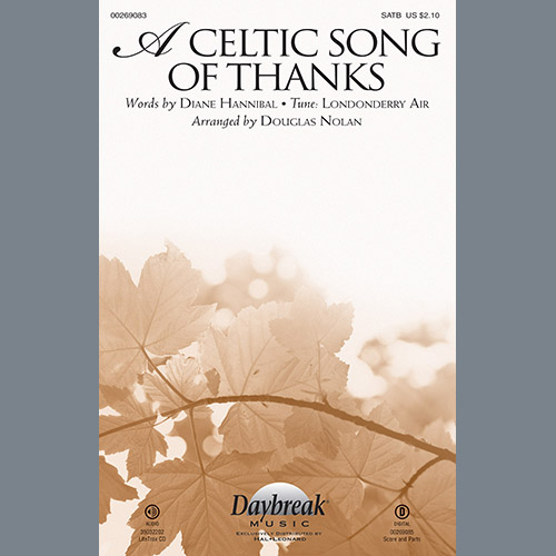 A Celtic Song of Thanks - Solo Violin 1