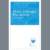 Jim Papoulis Music Changes The World cover kunst