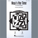 Nows The Time - Choir Instrumental Pak (Kirby Shaw) Partitions