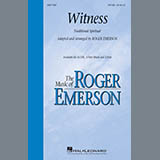 Traditional - Witness (Arr. Roger Emerson)