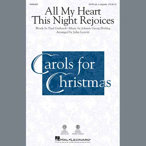 All My Heart This Night Rejoices (arr. John Leavitt)