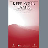Partition chorale Keep Your Lamps Trimmed And Burning de John Leavitt - SSA