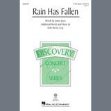 Partition chorale Rain Has Fallen de James Joyce - 3 voix mixtes