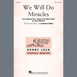 Partition chorale We Will Do Miracles de Dominick DiOrio - SSA